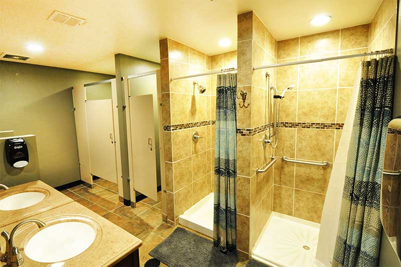 Showering Facilities - Denver Personal Training
